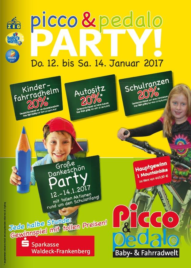 picco und pedalo party