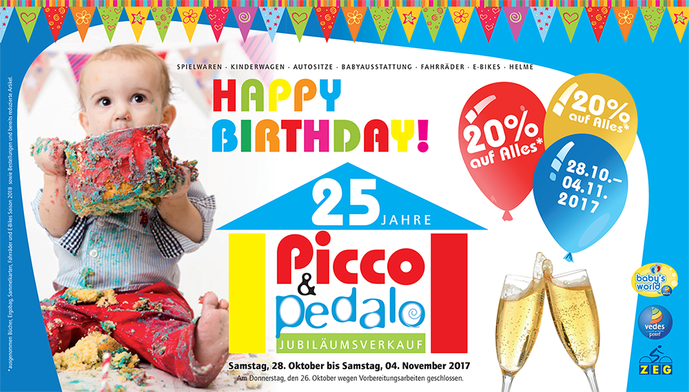 Picco & Pedalo - 25 Jahre