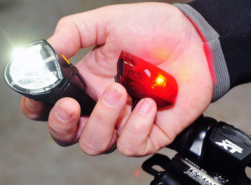 Fahrradlampen und Rücklichter