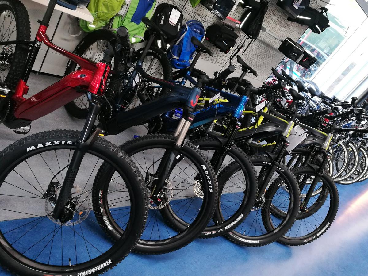 E-bikes und bikes Modelljahr 2020