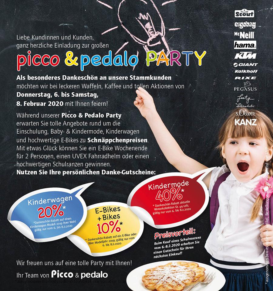 Picco & Pedalo Party 6 - 8 Februar